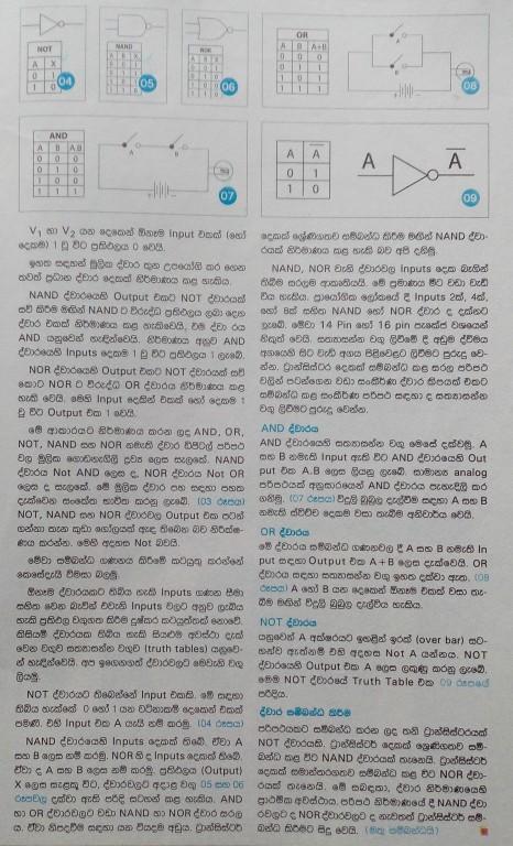 Digital Logic and Transistor - O/L ICT Tutorial part 03