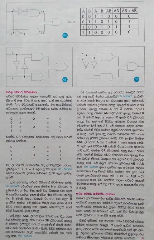Digital Logic and Transistor - O/L ICT Tutorial part 04