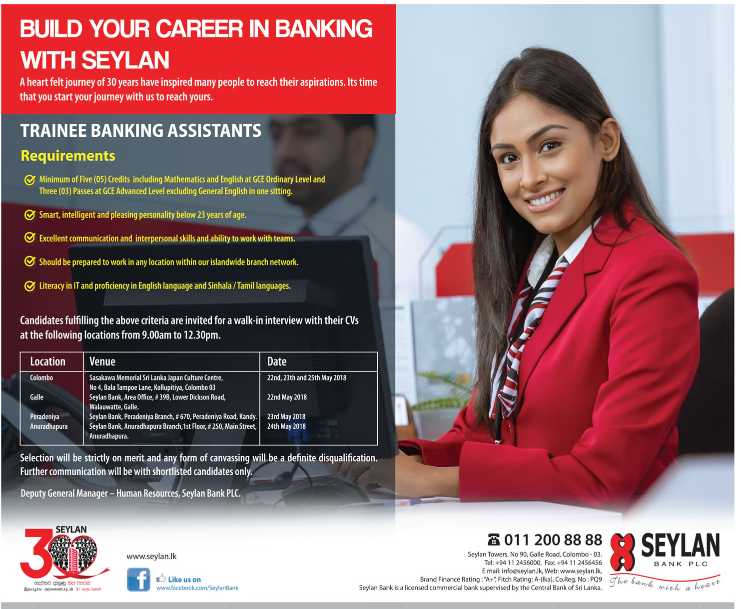 Banking Assistants Job Vacancy