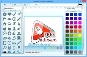 Jeta Logo Designer FREE - Software for Design Quality Logo