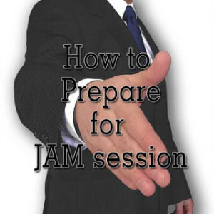 JAM Session Tips - How to Prepare JAM Session