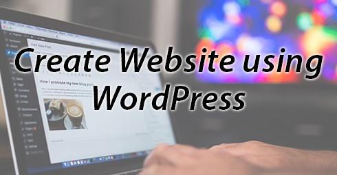 Guide to Create Website using WordPress