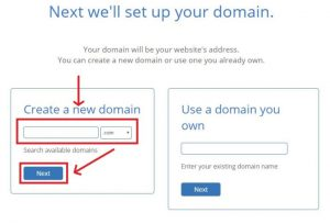 Setup your domain with bluehost