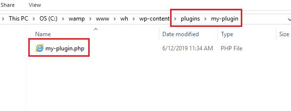 Guide to develop a WordPress plugin